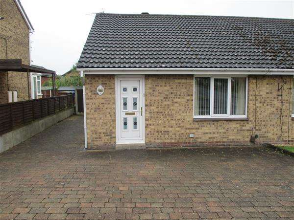 2 Bedrooms Semi Detached Bungalow for rent in Emsworth Close, Shipley View, Nottingham