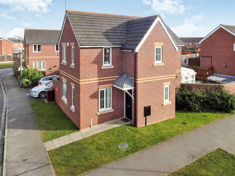 3 Bedrooms Detached House for sale in Melrose Lane, Lincoln