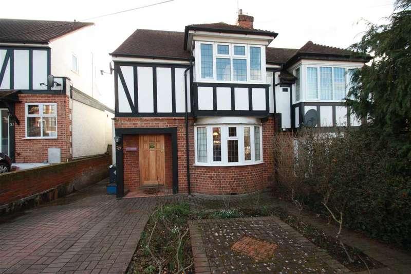 4 Bedrooms Semi Detached House for sale in Ashfield Avenue, Bushey