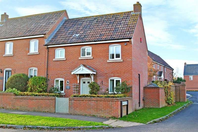 3 Bedrooms Semi Detached House for sale in North Curry