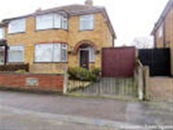 3 Bedrooms Semi Detached House for sale in Mossdale Road, Leicester