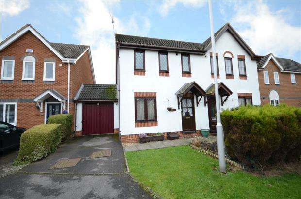 3 Bedrooms Semi Detached House for sale in Madox Brown End, College Town, Sandhurst