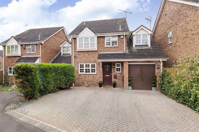 4 Bedrooms Detached House for sale in Bradmore Way, Lower Earley, READING, Berkshire