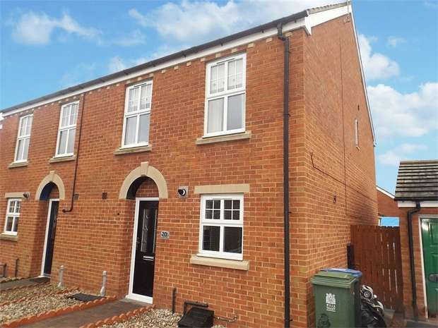 3 Bedrooms Semi Detached House for sale in Rudkin Drive, Crook, Durham