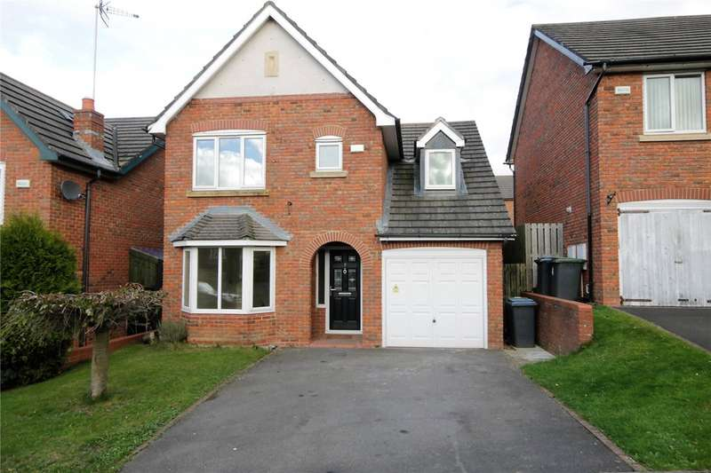 4 Bedrooms Detached House for sale in Carnoustie Close, Blackhill, Consett, DH8