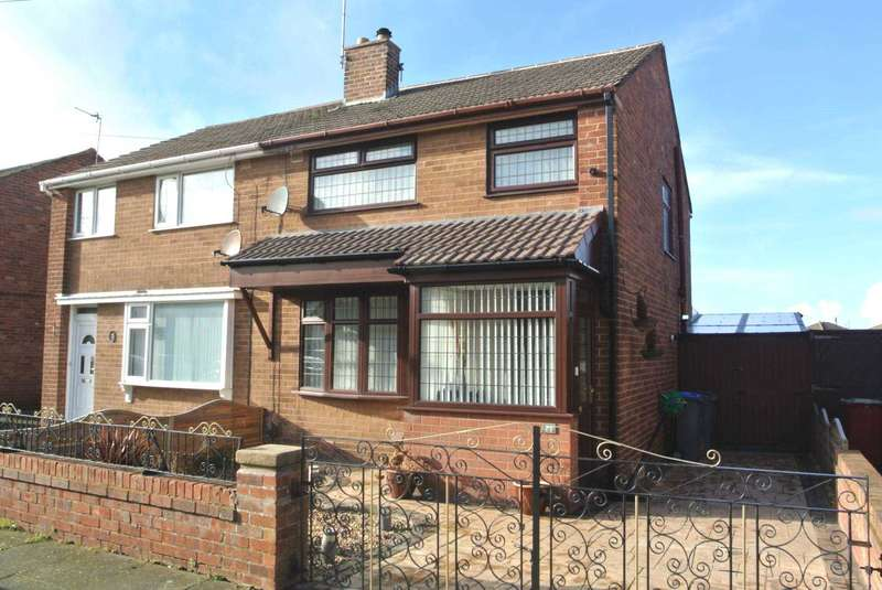 3 Bedrooms Semi Detached House for sale in Meanwood Avenue, Blackpool, FY4 4LU