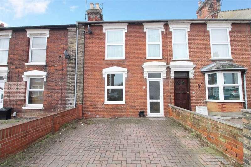 3 Bedrooms Terraced House for sale in Warwick Road, Ipswich
