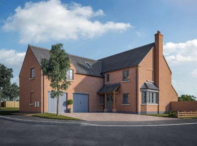5 Bedrooms Detached House for sale in The Bradbourne, Packington, Ashby-de-la-Zouch