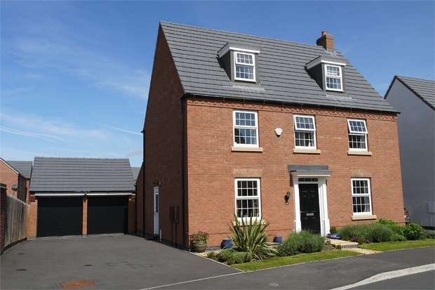 5 Bedrooms Detached House for sale in Marmion Close, Market Harborough, Leicestershire