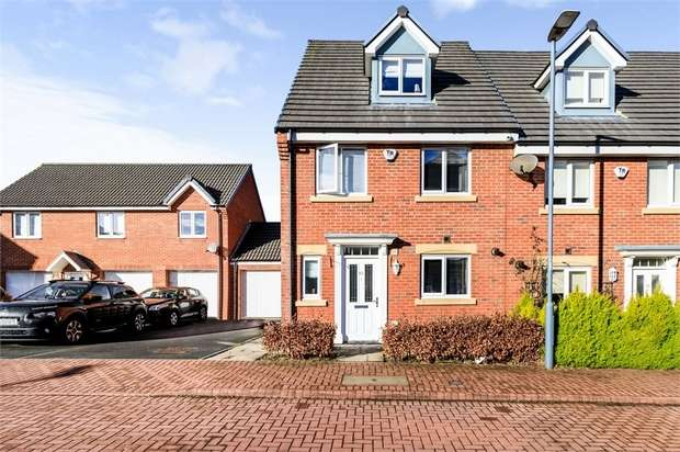 4 Bedrooms End Of Terrace House for sale in Harvey Avenue, Durham