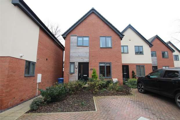 3 Bedrooms Semi Detached House for sale in Cairns Close, Lichfield, Staffordshire
