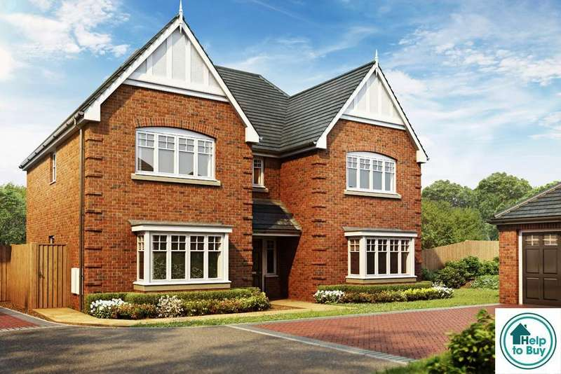 4 Bedrooms Detached House for sale in The Harlington, Haywood Grove, off Coley Lane, Little Haywood, ST18