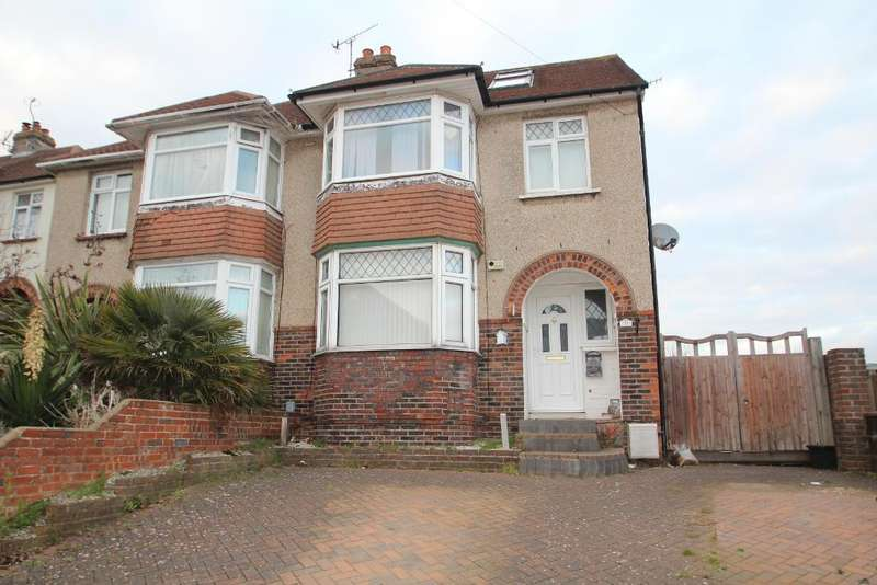 4 Bedrooms Semi Detached House for sale in Burlington Gardens, Portslade, East Sussex, BN41 2DS