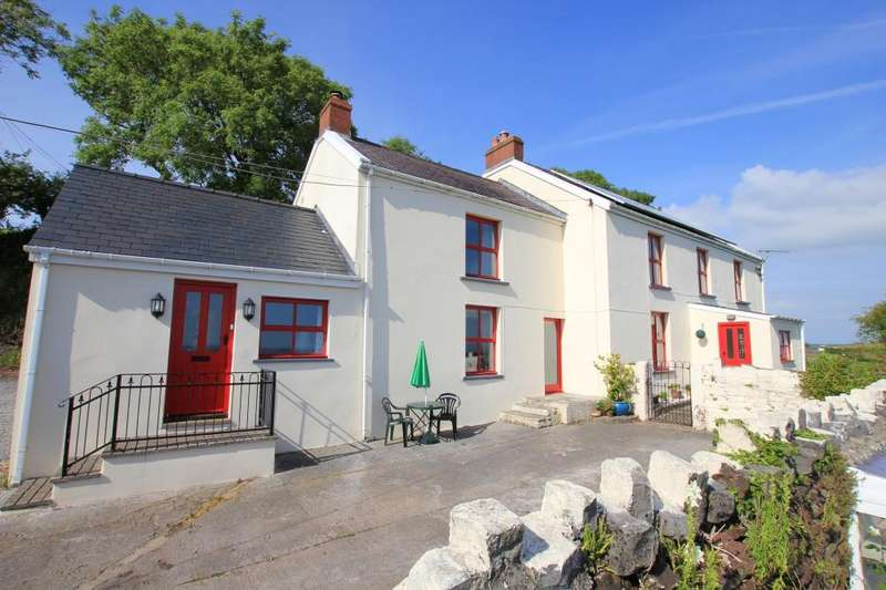 5 Bedrooms Farm House Character Property for sale in Llansadurnen, Laugharne, SA33