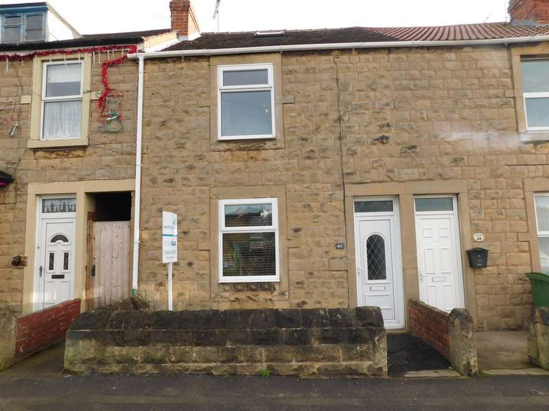 3 Bedrooms Terraced House for sale in Park Hall Road, Mansfield Woodhouse NG19