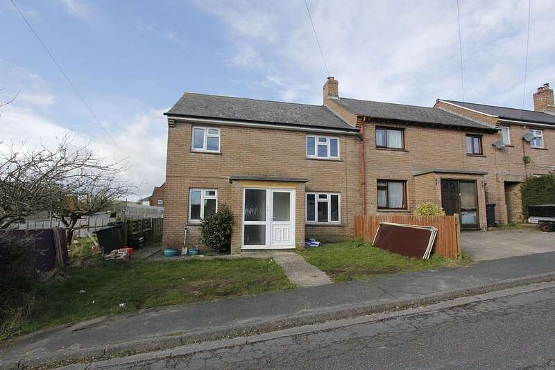 3 Bedrooms End Of Terrace House for sale in Hill View, Maiden Newton, Dorchester, Dorset, DT2 0BX