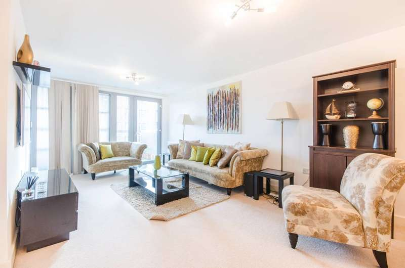 3 Bedrooms Flat for sale in Bramwell Way, Canary Wharf, E16
