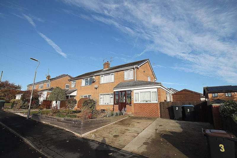 3 Bedrooms Semi Detached House for sale in Greenways, Sunnybrow, Crook