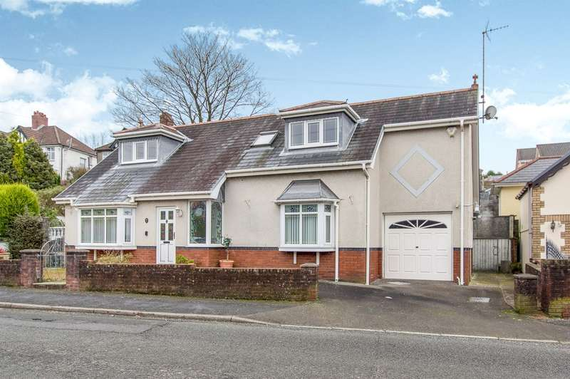 3 Bedrooms Detached Bungalow for sale in Glan Yr Afon Road, Sketty, Swansea