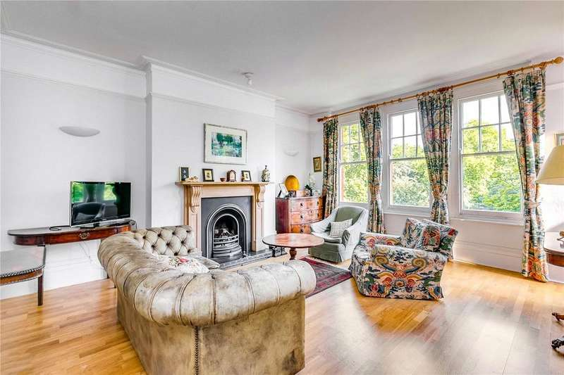 3 Bedrooms Flat for sale in Albany Mansions, Albert Bridge Road, London