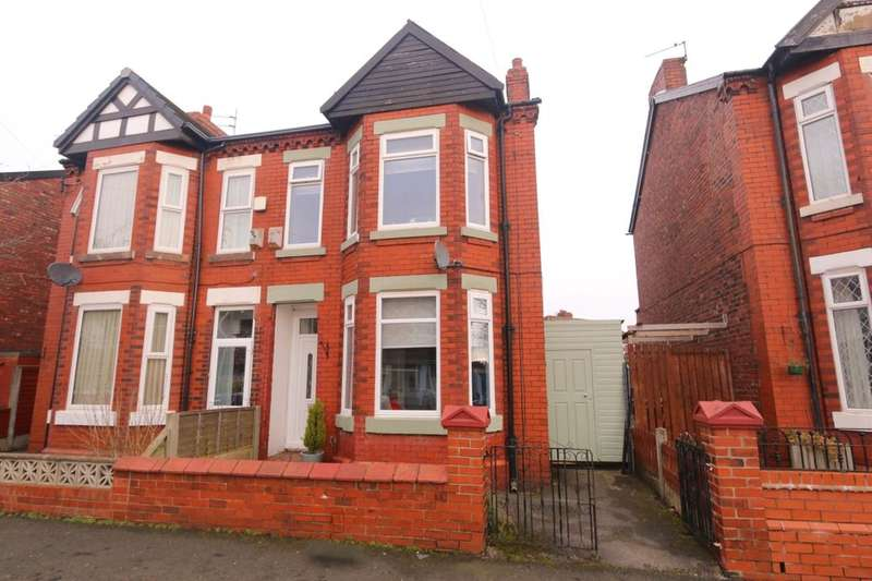 3 Bedrooms Semi Detached House for sale in Balmoral Drive, Denton, Manchester, M34