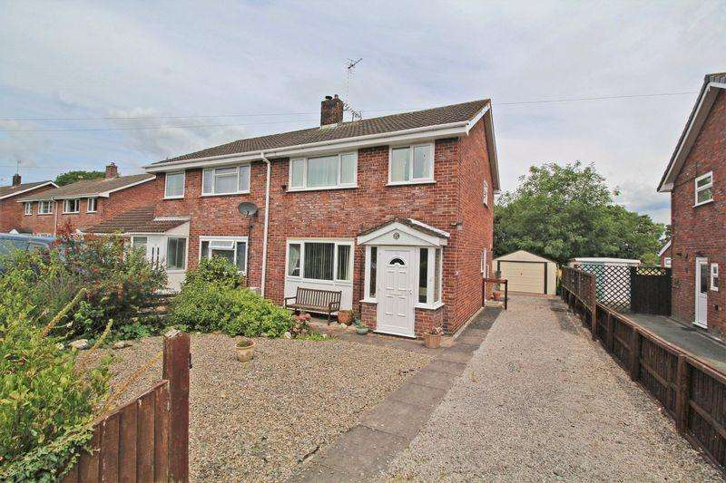 3 Bedrooms Semi Detached House for sale in Oaklands Road, Chirk Bank
