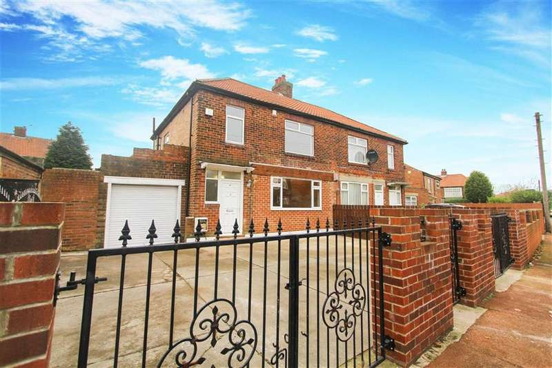 3 Bedrooms Semi Detached House for sale in Brookside Crescent, Newcastle