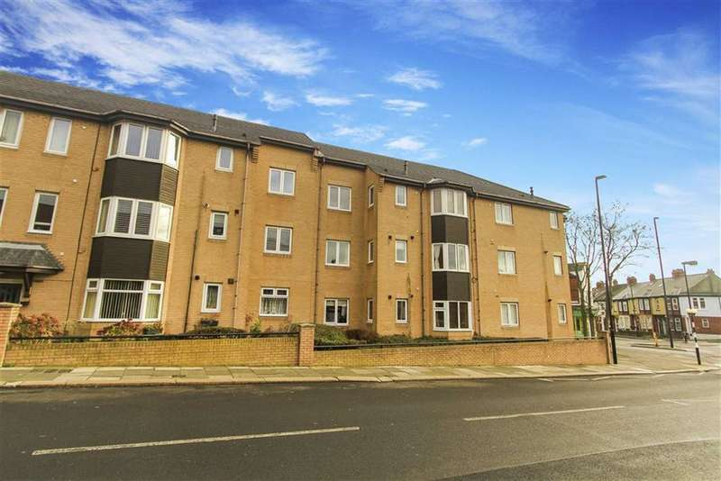 2 Bedrooms Flat for sale in St Margarets Court, Whitley Bay, Tyne And Wear