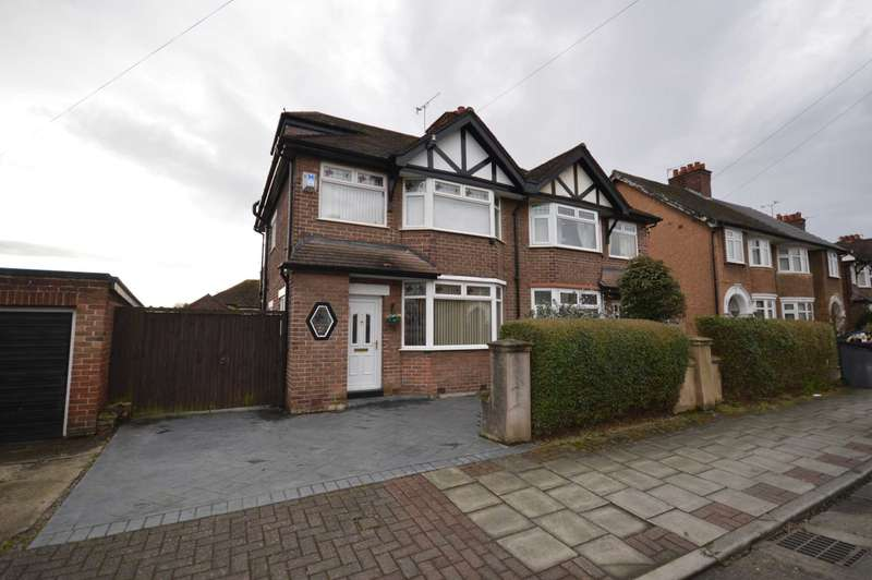 4 Bedrooms Semi Detached House for sale in Anscot Avenue, Bebington