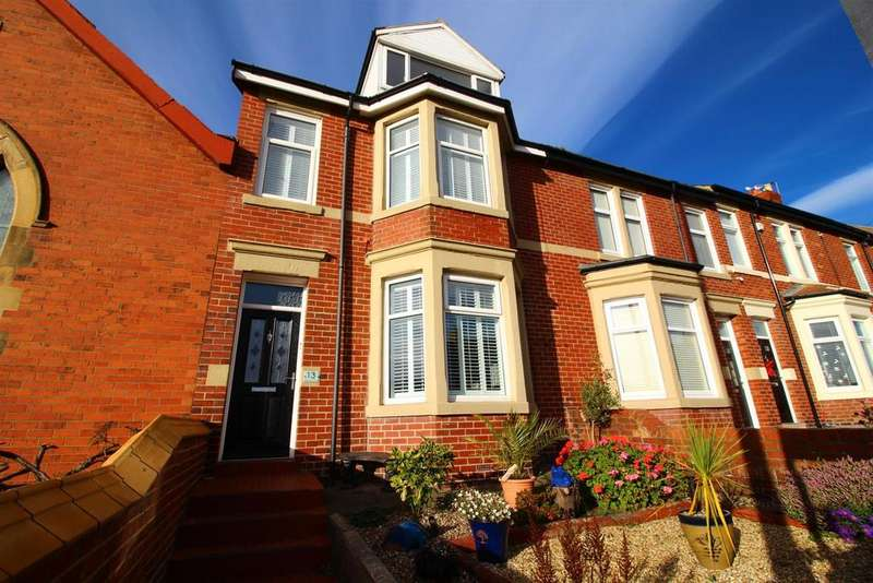 4 Bedrooms Terraced House for sale in Promontory Terrace, Whitley Bay