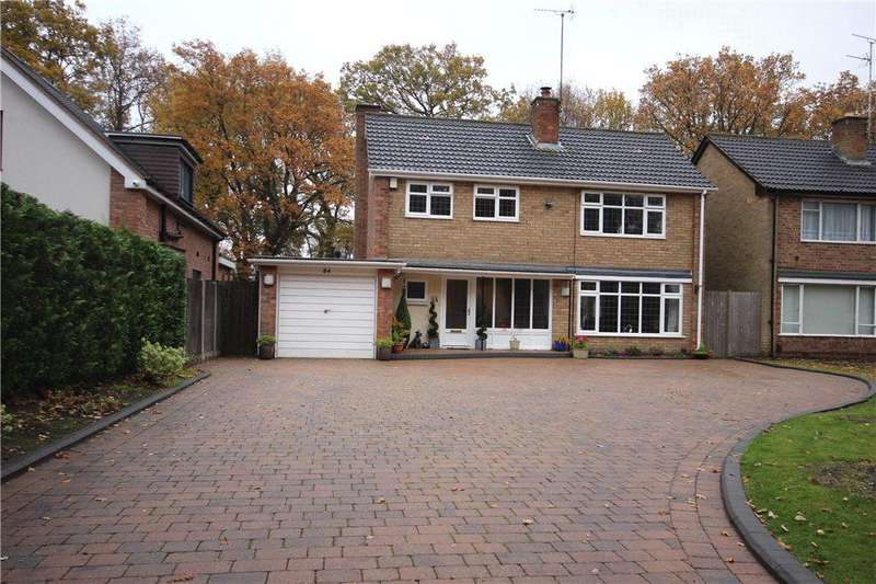 4 Bedrooms Detached House for sale in Woodlea Drive, Solihull, West Midlands, B91