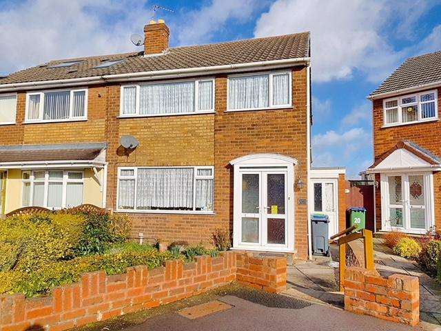 3 Bedrooms Semi Detached House for sale in JAYNE CLOSE, WEST BROMWICH, WEST MIDLANDS, B71 3LP