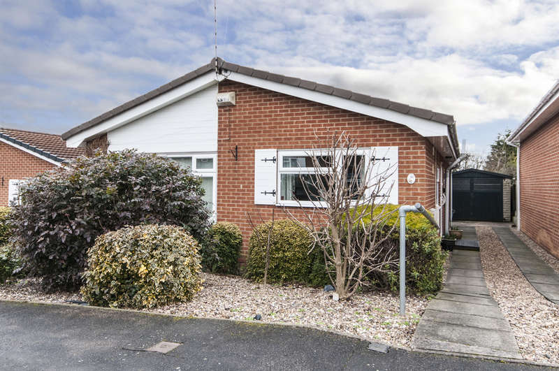 2 Bedrooms Detached Bungalow for sale in Stonehill, Castle Donington