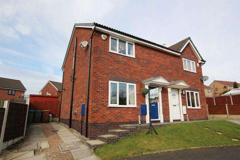 3 Bedrooms Semi Detached House for sale in Brackenlea Fold, Norden, Rochdale OL12 7GG
