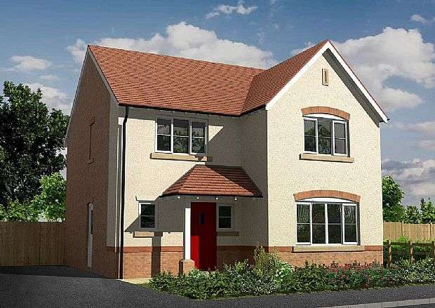 4 Bedrooms Detached House for sale in Sherbourne, Manor Fields, Wrexham Road, Whitchurch, Shropshire, SY13 1JF