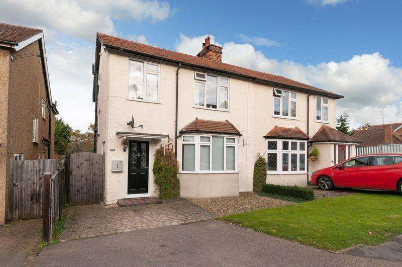 4 Bedrooms Semi Detached House for sale in Cross Way, Harpenden