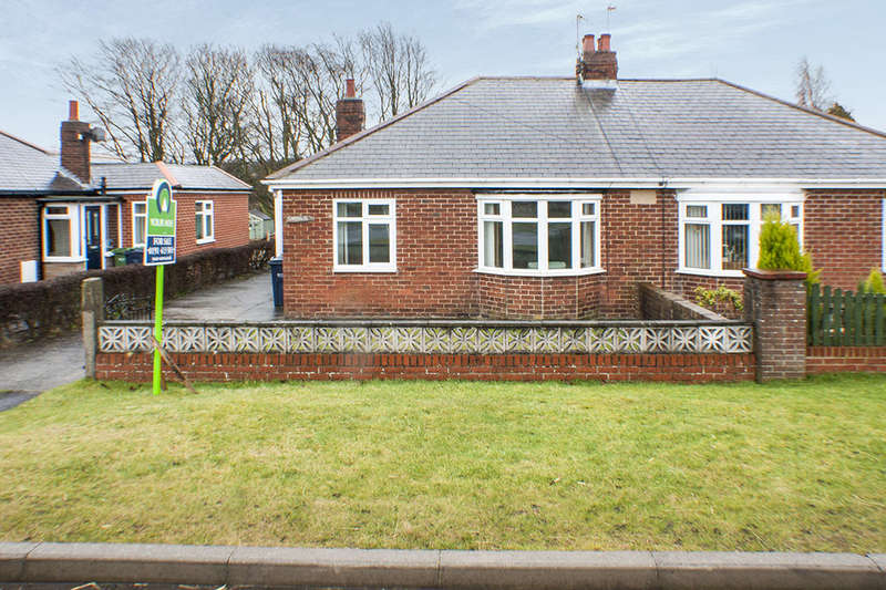 2 Bedrooms Semi Detached Bungalow for sale in Stannerford Road, Ryton, NE40