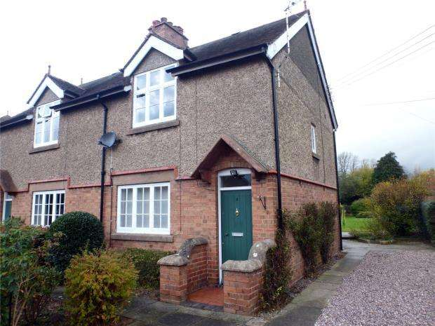 3 Bedrooms Semi Detached House for rent in Hill View, Dorrington, Shrewsbury, Shropshire, SY5