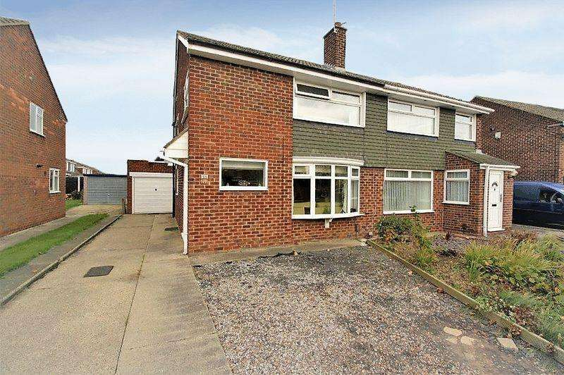 3 Bedrooms Semi Detached House for sale in Dunedin Avenue, Hartburn, Stockton, TS18 5JH