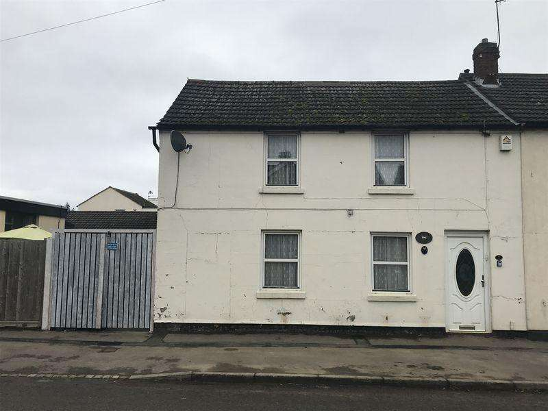 2 Bedrooms End Of Terrace House for sale in Front Street, Slip End