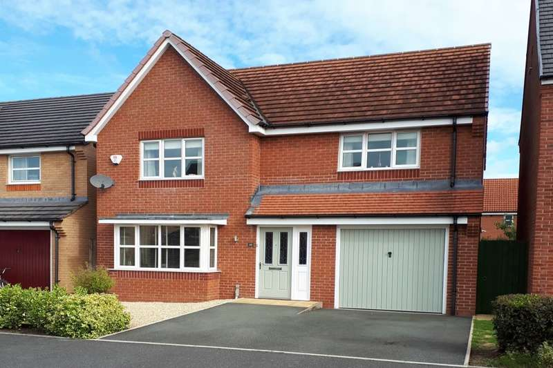 4 Bedrooms Detached House for sale in Wellman Avenue, Brymbo, Wrexham, LL11