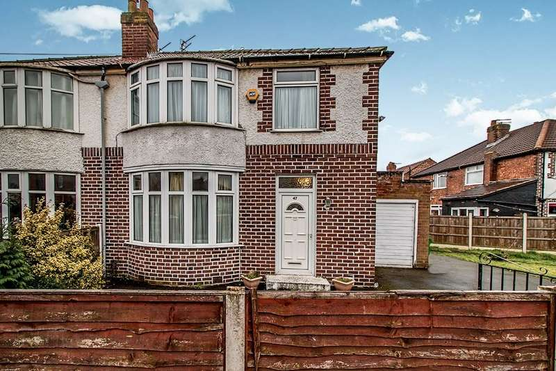3 Bedrooms Semi Detached House for sale in Heyscroft Road, Withington , Manchester, M20