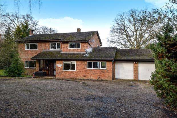 4 Bedrooms Detached House for sale in Eversley Centre, Hook, Hampshire