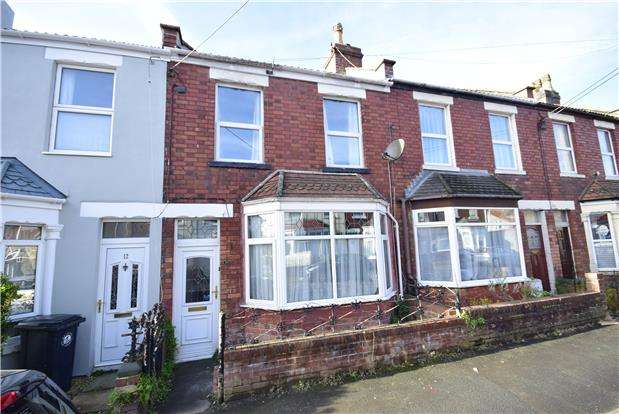 2 Bedrooms Terraced House for sale in Moorlands Road, BRISTOL, BS16 3LF