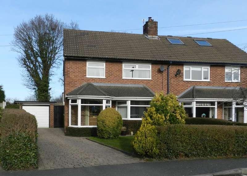 3 Bedrooms Semi Detached House for sale in Lansdowne, Culcheth, Warrington, WA3 4EA