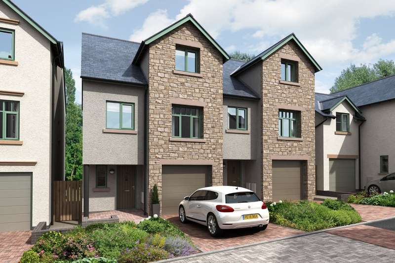 4 Bedrooms Semi Detached House for sale in Plot 6 Tenterfield, Brigsteer Road, Kendal, Cumbria LA9 5EA