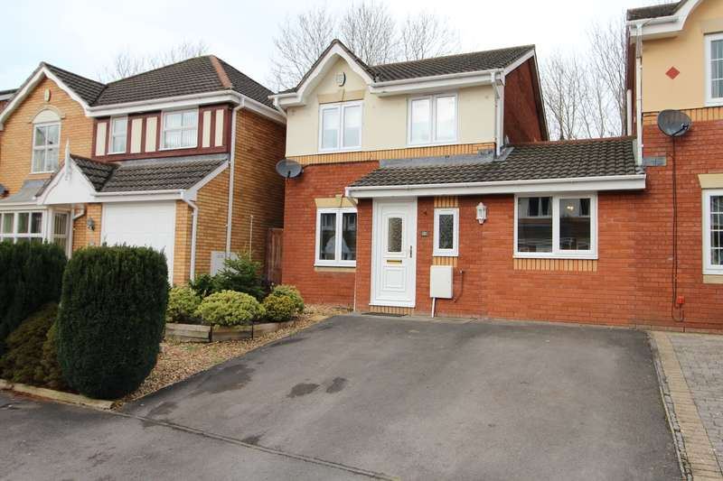 3 Bedrooms Link Detached House for sale in Manor Park, Newport, NP10