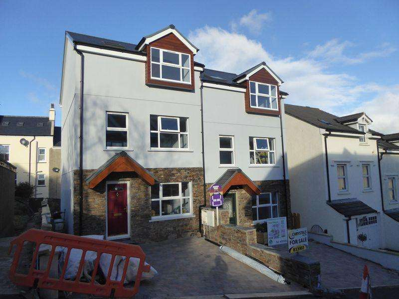 4 Bedrooms Semi Detached House for sale in New House 2, Gellings Avenue, Port St Mary, IM9 5BG