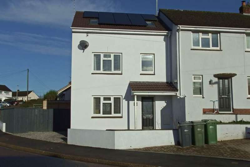 3 Bedrooms Town House for sale in Bicton Street, Barnstaple