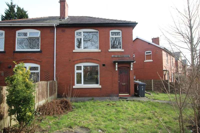 3 Bedrooms Semi Detached House for rent in Greywood Avenue, Bury, BL9